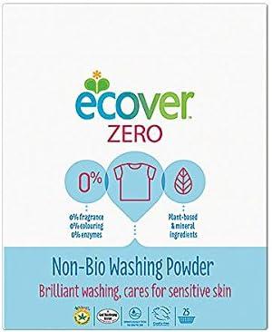 Ecover – Detergente Zerio Bio lavado Polvo Ecológico Biodegradable ...