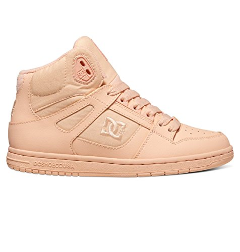 DC Rebound High Womens Peach Cream WM 7uk