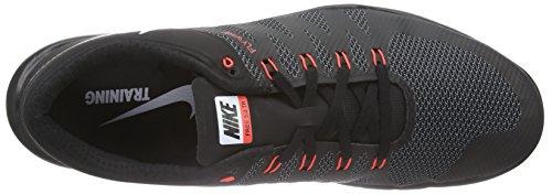 Nike Free Trainer 5.0 V6 - Zapatillas para hombre Negro / Blanco / Gris / Rojo (Black / White-Cl Gry-Brght Crmsn)