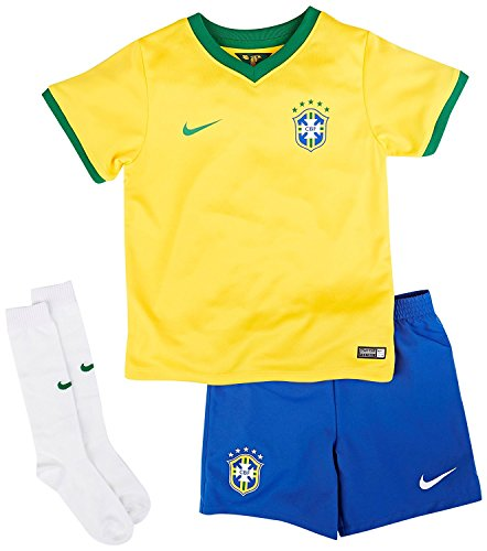 Nike 2014-15 Brazil Home World Cup Mini Kit (Small)