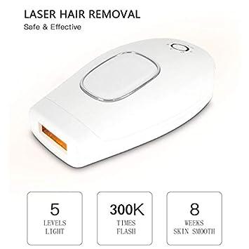 Láser Depilacion Depiladora Eléctrica 300000 Flash Industria Permanente IPL Mujer Indoloro Máquina De Depilación: Amazon.es: Salud y cuidado personal
