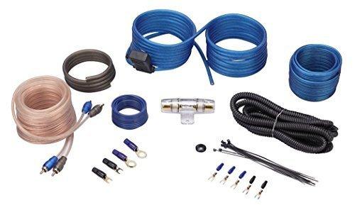 Rockville RWK10 10 Gauge Amp Installation Kit ANL Fuse Holder 100% Copper - Kits 10 Gauge Wiring Amplifier