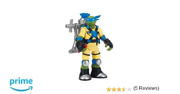 Teenage Mutant Ninja Turtles - Muñeco de Leonardo con Pistola de mocos [Importado]