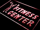 ADVPRO Open Fitness Center Centre Gym LED Neon Sign Red 12'' x 8.5'' st4s32-i323-r