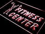 ADVPRO Open Fitness Center Centre Gym LED Neon Sign Red 12'' x 8.5'' st4s32-i323-r