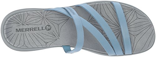 Merrell Leather Seaway Duskair Heaven Blue Sandal Slide Women's RnrRpxT1