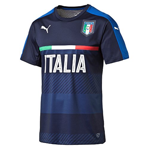 PUMA Herren Trikot FIGC Italia Training Jersey, Peacoat/Team Power Blue, M, 748851 05