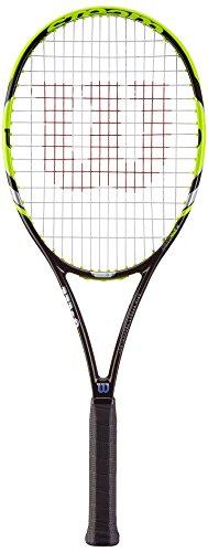 Wilson Tennis Steam 99S Tennis Racket, Yellow/Black Yellow/Black