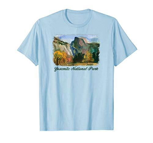 Yosemite National Park - Half Dome & Yosemite Valley T-Shirt -