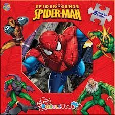 Spider Sense Spider-Man: My First Puzzle Book PDF Text fb2 book