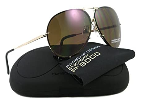ee548153ef Image Unavailable. Image not available for. Color  PORSCHE DESIGN P8478 A  Sunglasses ...