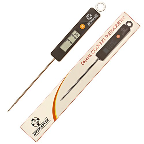 Anchorprise Digital Cooking Large Display-Auto Shut-off Thermometer