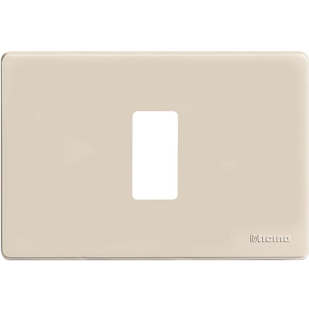 503//2//R//F Resina Bticino FP Magic Placa 2/plazas Blanco
