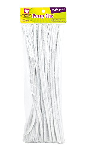 UPC 028444186685, Fibre Craft - Creative Hands  White Chenille Stems Chenille Stems