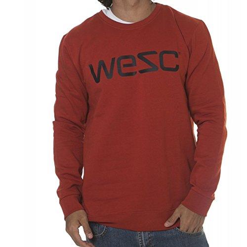 Sudadera Wesc: We WeSc Men Crew Ketchup Red RD XL: Amazon.es: Ropa y accesorios
