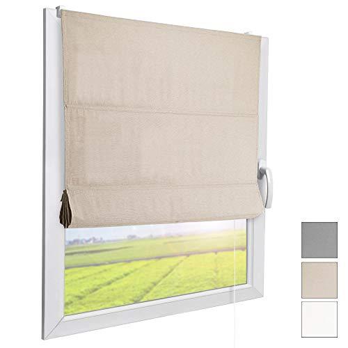 Sol Royal Raffrollo RA3 – Stoffrollos für Fenster – div. Farben u. Größen