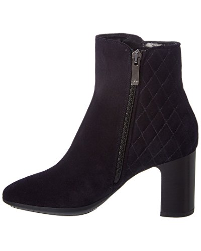 Aquatalia Dorothy Waterproof Suede Bootie, 6, Blue