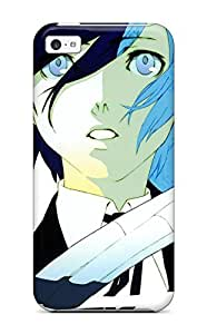 For ERYnfph6725QgxGj Headphones Video Games Robots Persona Series Ribbons Robot Girl Personanime Girls Arisato Minato Aigis Protective Case Cover Skin/iphone 4s Case Cover