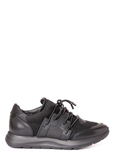 Leder CMIA021S170370621000 BURLON Sneakers Schwarz MARCELO Herren xqfBn6w7z
