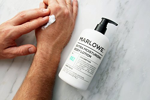 MARLOWE. 002 Extra Moisturizing Body Lotion 15 oz | Daily Lotion for Dry Skin for Men and Women | Light Fresh Scent | Made with Natural Ingredients | Vegan & Cruelty-Free by Marlowe (Image #4)