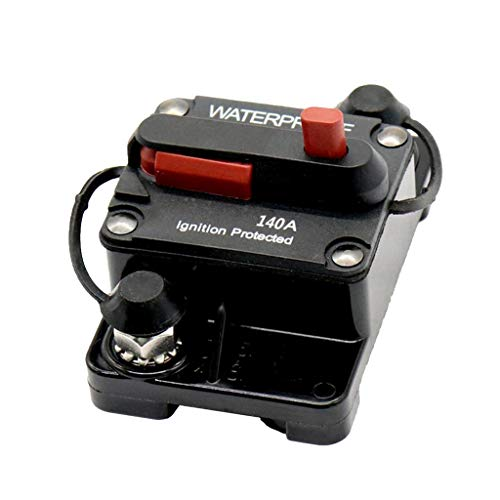 Baosity Manual Reset with Disconnect Switch Breaker Resettable Fuse Holder 140A by Baosity (Image #9)