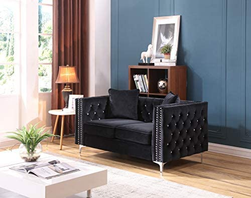 Amazon.com: Glory Furniture G828A-L - Asiento de amor, color ...