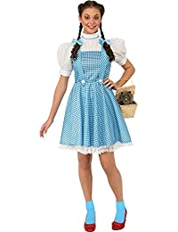 Costume Women's Wizard Oz Adult Dorothy Dress Hair Bows