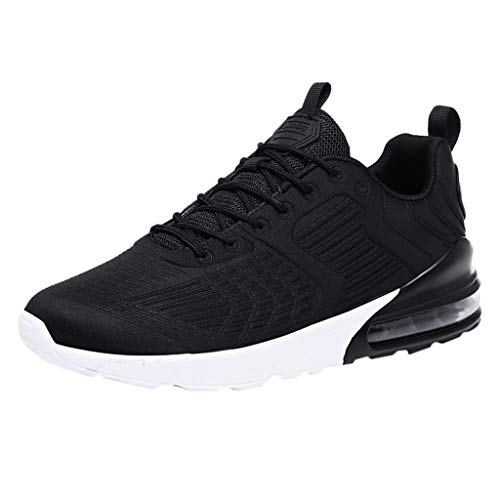 JJLIKER Men's Sneakers Lightweight Breathable Mesh Athletic Running Walking Sport Shoes Trail Comfort Fashion Tennis