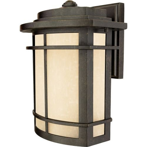 Galen One Light Outdoor Wall Lantern in Imperial Bronze