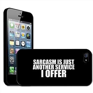 Fancy A Snuggle - Carcasa rígida para iPhone 5 con diseño de texto