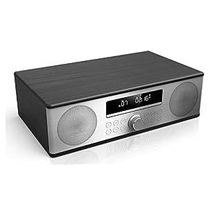 Sharp XL-B715D(BK) 90W All-In-One Micro Hi-Fi Audio System with DAB+ FM Radio, Bluetooth, CD, USB MP3 Playback/Charging & Remote Control – Black