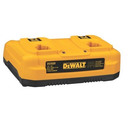 DEWALT DW9216 7.2-Volt to 18-Volt Dual Bay Pod Style 1 Hour Battery Charger by DEWALT