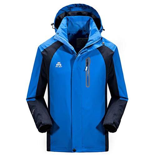 - Men's Mountain Ski Jacket Windproof Fleece Snow Coat Rainwear Waterproof Hooded Warm Parka