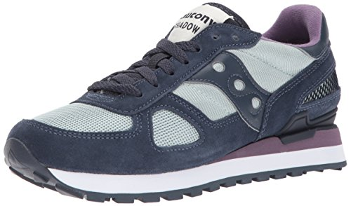 US Top Women's Navy Low Red Original Grey Saucony Shadow Sneakers W0qH4IIx