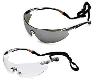 Harley-Davidson RHD800K Series Safety Eyewear with Hang Cords, 2-Pack
