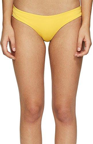 LSpace Women's Sandy Bikini Bottoms, Sunshine Gold, Large - Gold Swim Bottom