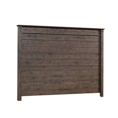 Sauder 419887 Carson Forge Headboard, Full/Queen, Coffee Oak finish