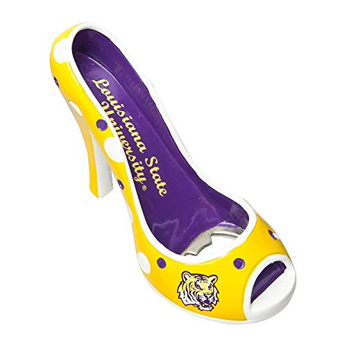 LSU Tigers Official NCAA Team Shoe Bottle Opener by Evergreen
