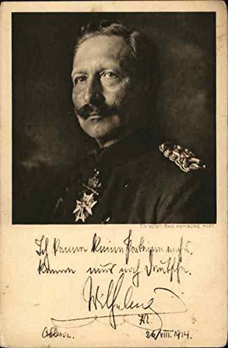 Kaiser Wilhelm II Royalty Original Vintage Postcard from CardCow Vintage Postcards