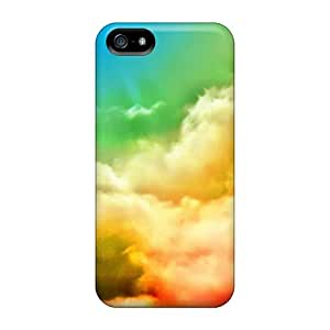 DwP12093etFW Faddish Abstract Clouds Multicolor Grass Colored For SamSung Note 4 Phone Case Cover