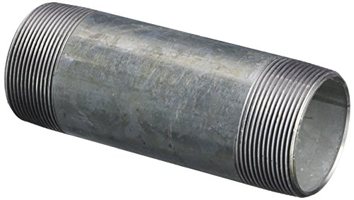 LDR 301 2X6 Galvanized Pipe Nipple, 2-Inch X 6-Inch by LDR Industries
