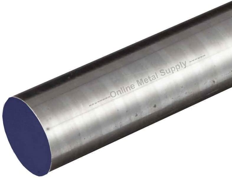 Online Metal Supply D2 DCF Tool Steel Round Rod x 60 inches 0.500 1//2 inch