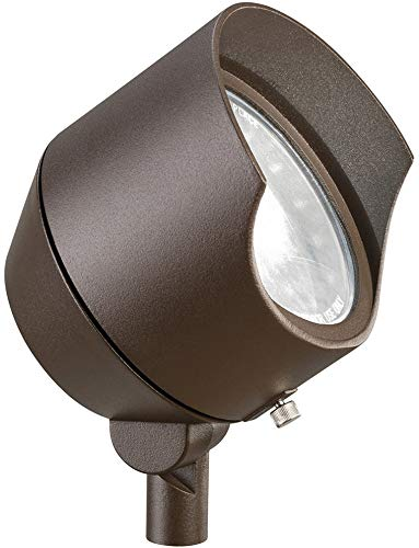 Kichler 15381AZT Accent 1-Light 12V, Textured Architectural Bronze