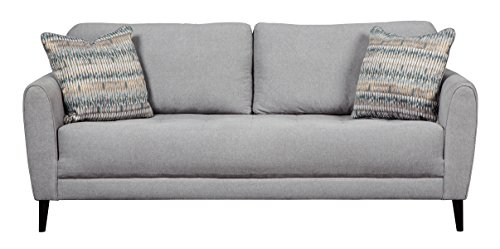 Signature Design by Ashley 3240138 Cardello Sofa, Pewter