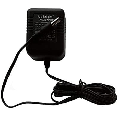 UpBright 9V AC/AC Adapter Replacement For Black & Decker 90500144 90509774 UA090010B CHS6000 6Vd.c. Recip-Saw B&D 6V Handisaw 9VAC 0.1A-0.5A Power Supply Cord Cable Wall Home Battery Charger Mains PSU