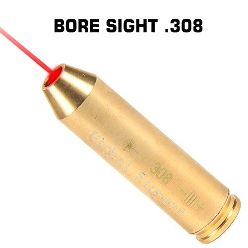 GlobalPioneer® RED Laser 308 243 Bore Sight Boresighter Laser Boresight .308 .243