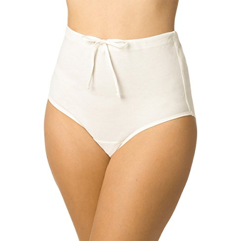 Women's Drawstring Brief (2 pack), 8 - Stitch High Cut Brief