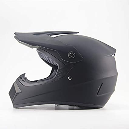 Ocamo Full Protection Off Road Casco Motorcycle Moto Dirt Bike Motocross Racing Helmet Matte black S