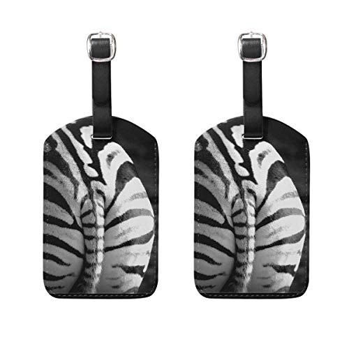 Tag Luggage Flyer (Luggage Tags Zebra Ass Womens Bag Suitcase Tags Holder traveling accessories)