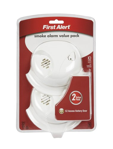 First Alert SMOKE ALARM BATTERY OP 2PK